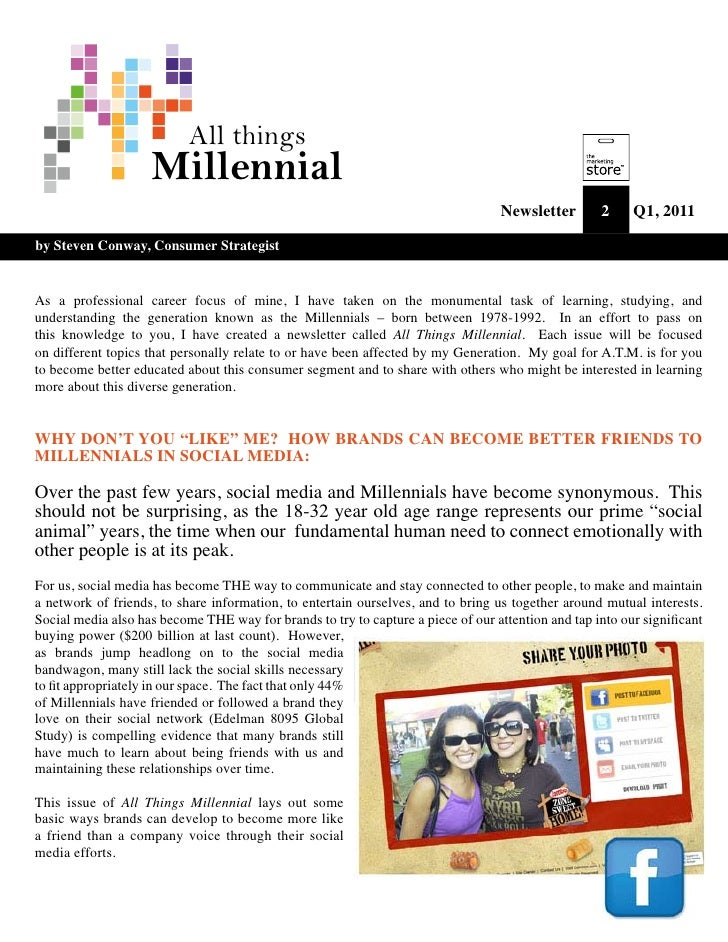 """All Things Millennial - Why Don't you """"like"""" me"""
