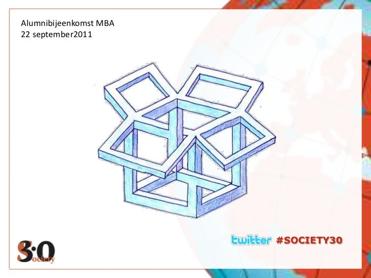 D<br />Alumnibijeenkomst MBA<br />22 september2011<br />#SOCIETY30<br />