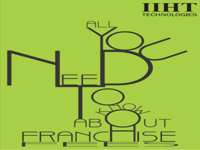 If you have ever thought about a franchise business then you would have thought about franchise fees, consciously or uncon...