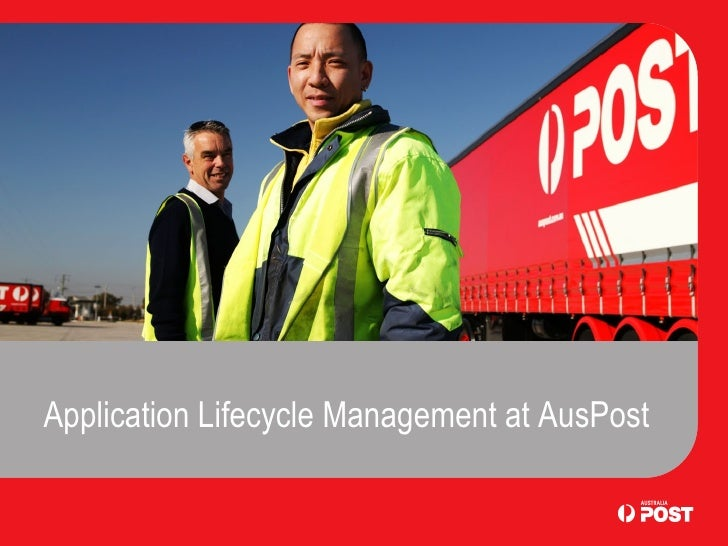 Application Lifecycle Management at AusPost