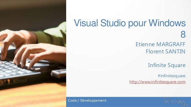 Visual Studio 2012 pour Windows 8