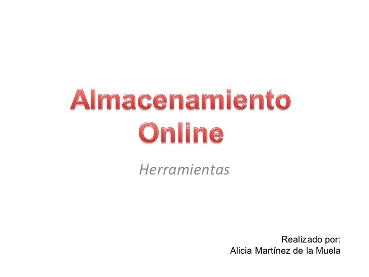 Almacén online