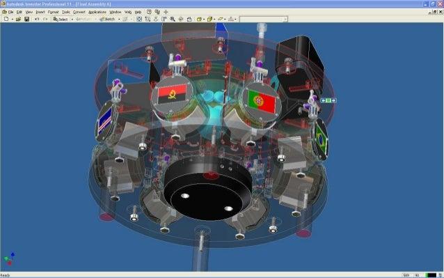 Alma de agua CAD model