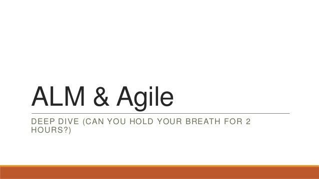 Alm & agile