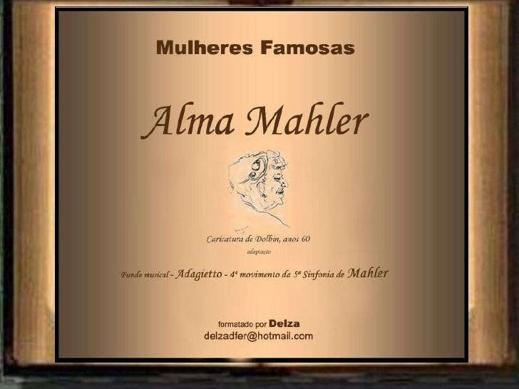 Alma Mahler