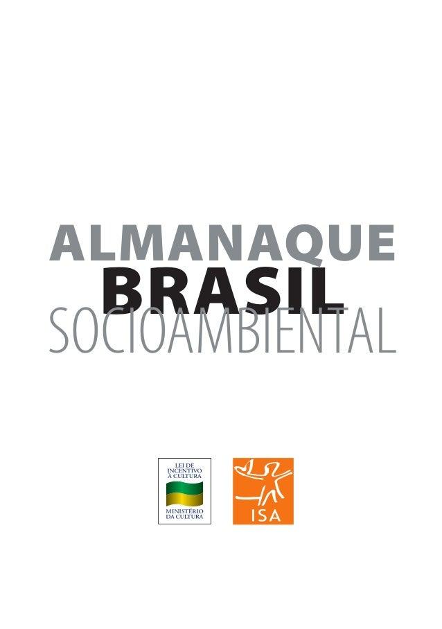 Almanaque brasil socioambiental 2008