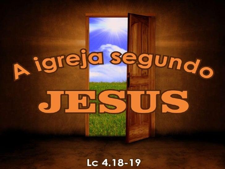 """""""O Espírito do Senhor está sobre mim,  porque ele me ungiu para pregar as boas-novas aos pobres. Ele me envioupara proclam..."""