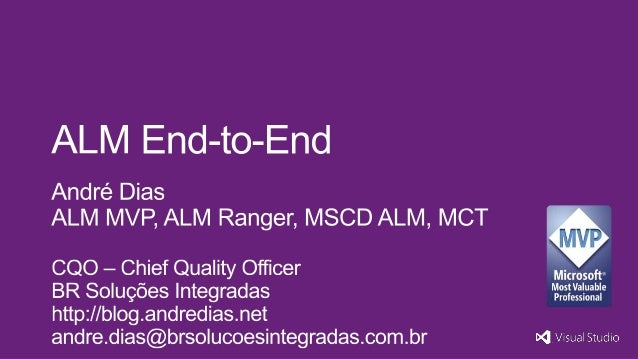 ALM End-to-End