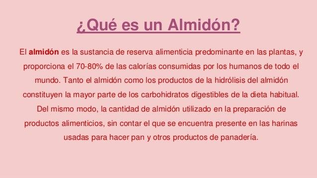 Almidones 5e - Como calcular las calorias de los alimentos que consumo ...