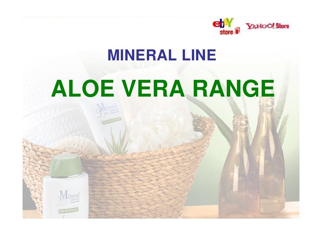 Aloe vera cosmetics catalogue