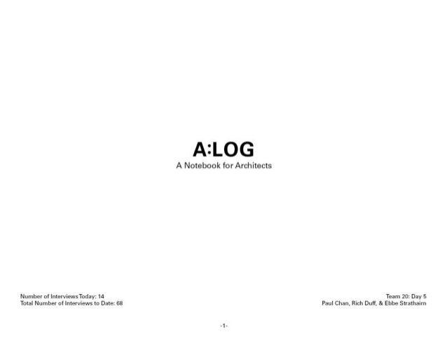 A log columbia univ jan 2014