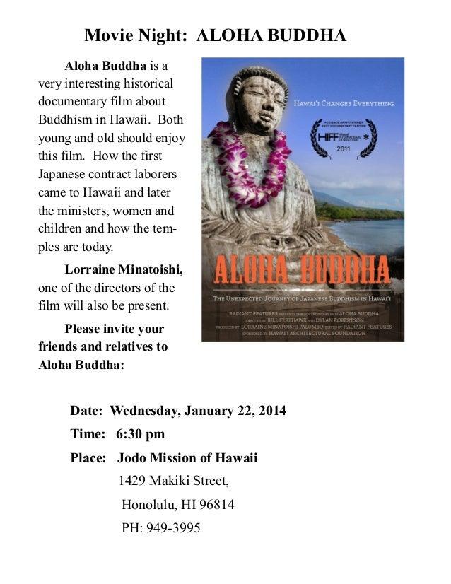 Aloha Buddha Screening