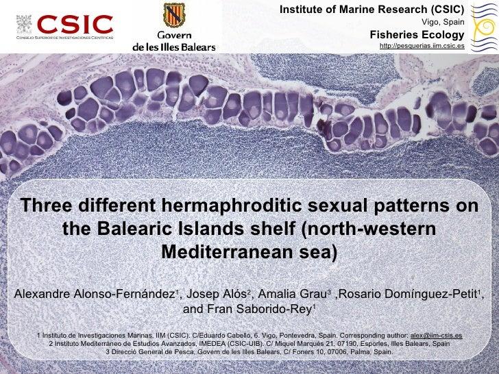 Causas de variación en el ciclo reproductivo: efectos maternales Alexandre Alonso-Fernández, Fran Saborido-Rey Instituto d...
