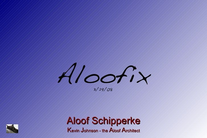 Aloofix