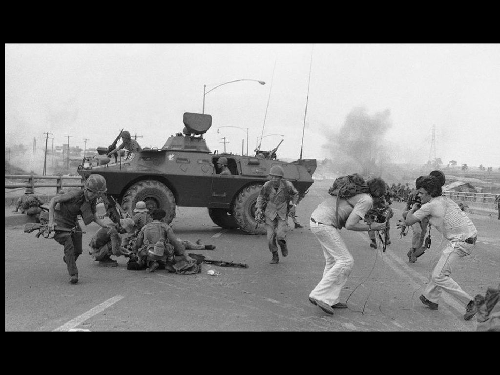 a look back at the vietnam war Living in a city where military service is often celebrated, it's hard to believe that the attitude of service and war was vastly different 50.