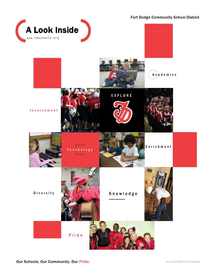 Fort Dodge Community School District     A Look Inside     www.fdschools.org                                              ...