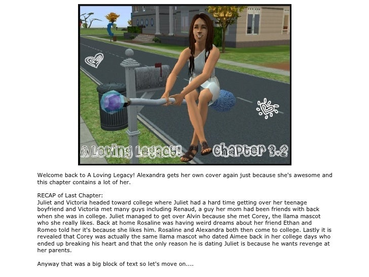 A Loving Legacy! Chapter 3.2.
