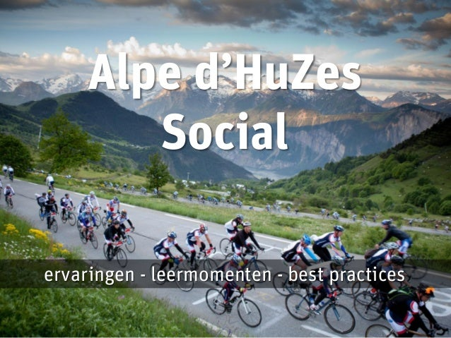 Alpe d'HuZes Social - MKB Ondernemers Congres