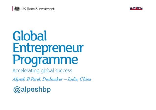 1 Presentation title - edit in the Master slide @alpeshbp