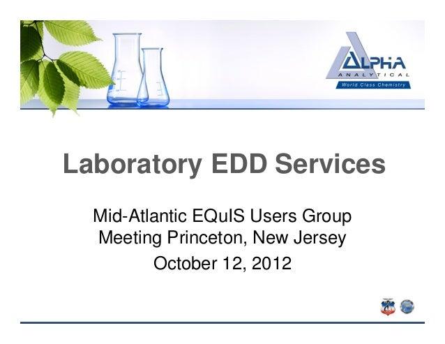 Alpha analytical edd_services_2012
