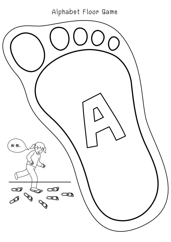 Alphabet Floor Game