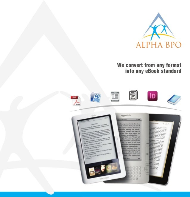 eBook conversion service for ePub / Kindle / iBook