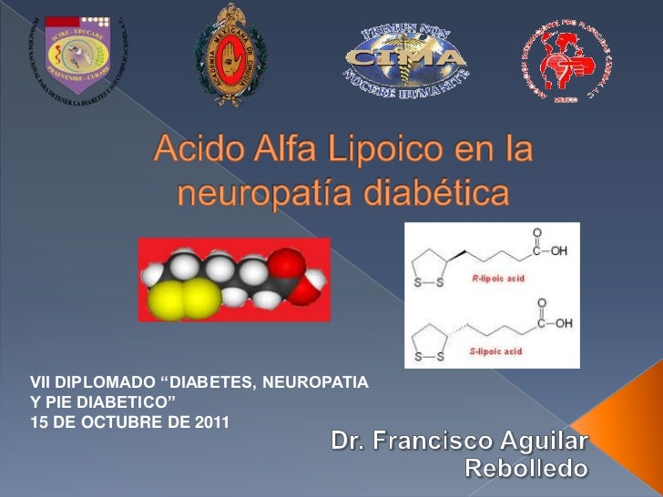 Acido Alpha lipoico en diabetes mellitus