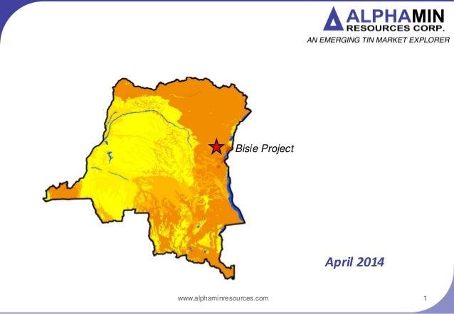 Alphamin Resources Corporate Update (Jan 2014)