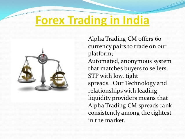 Forex trading account in india