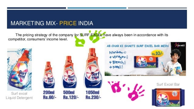 tide detergent 4ps The attitude of others refers to, for example, if someone important tells you to  always buy tide's detergent, you will be less inclined to buy gain's detergent.