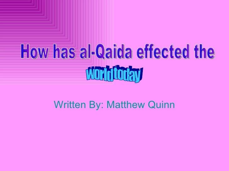 Written By: Matthew Quinn