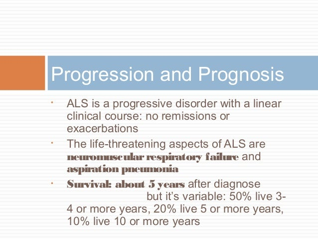 the characteristics of amyotrophic lateral sclerosis a life threatening neurodegenerative disease Amyotrophic lateral sclerosis (als), first described by charcot in the 19 th century, is a relentlessly progressive, presently incurable neurodegenerative disorder that causes muscle weakness, disability, and eventually death.