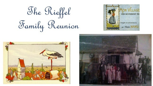The Rieffel Family Reunion