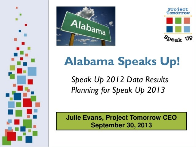 Alabama Speaks Up!
