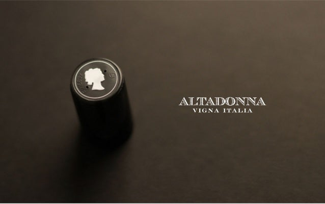 WELCOME TO ALTADONNA