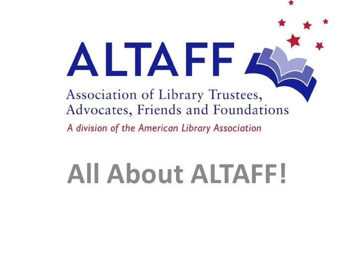 All About ALTAFF!<br />