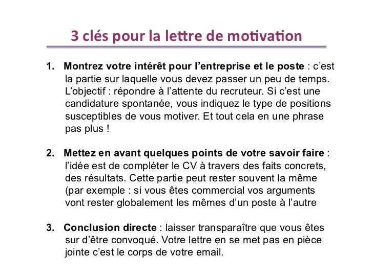 exemple lettre motivation 3 parties