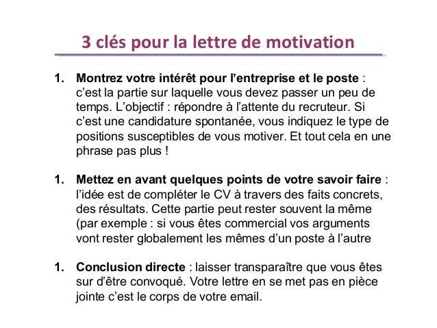 comment  u00c3 u00a9crire une lettre de motivation pour un emploi