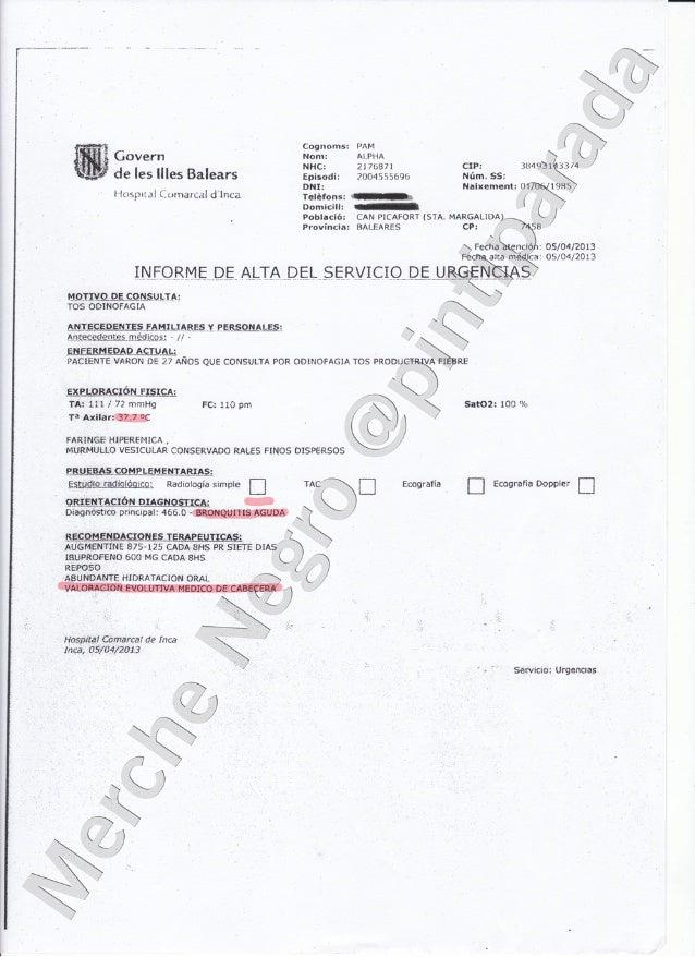 Alpha Pam Alta Hospital Inca 5 abril