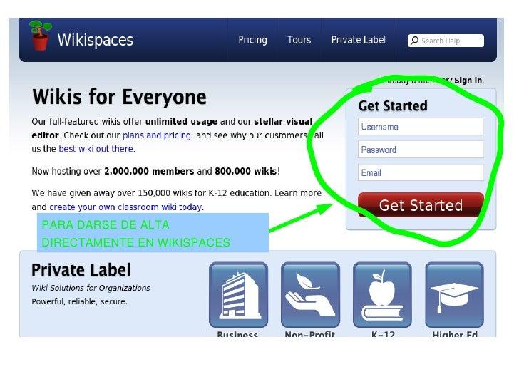 Alta Wikispaces