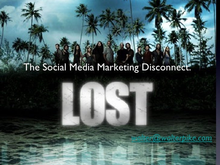 The Social Media Marketing Disconnect