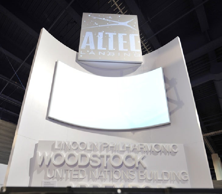 Altec presentation for CES 2012