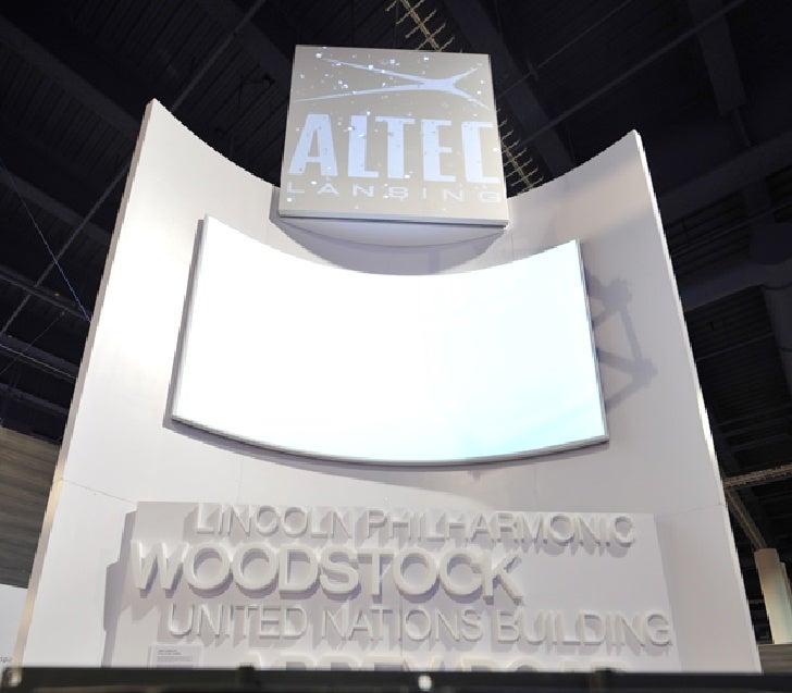 Altec presentation for CES 2012