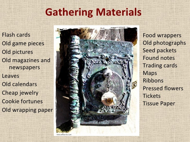 Gathering Materials <ul><li>Flash cards </li></ul><ul><li>Old game pieces </li></ul><ul><li>Old pictures </li></ul><ul><li...
