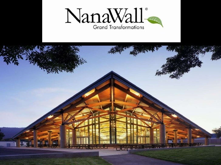 Nana Wall Systems is registered provider with the American    institute of Architects continuing Education Systems. Credit...