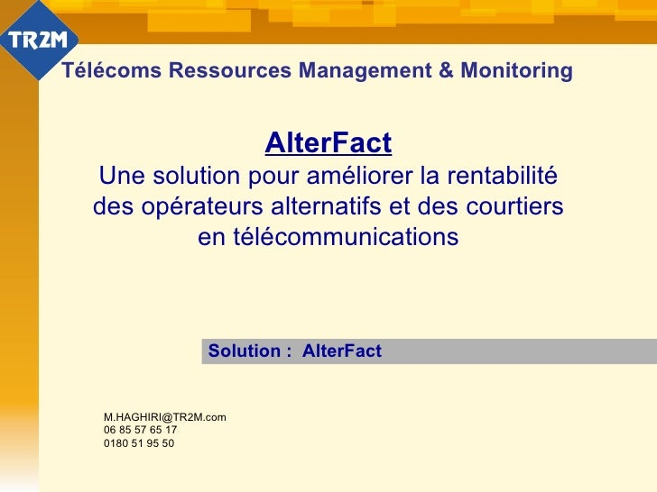 Alter fact tr2m-09-09-2010