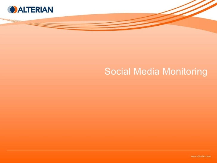 Best Practices To Maximize Your Social Media Monitoring Efforts Presented By Connie Bensen
