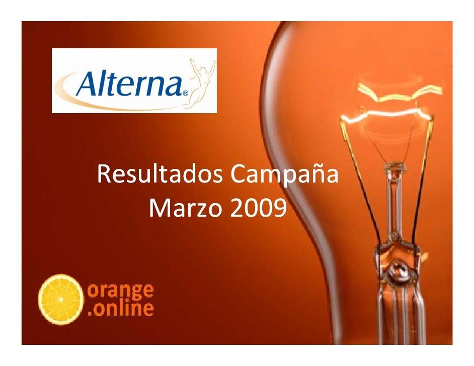 ResultadosCampaña     Marzo2009     Marzo     Marzo 2009