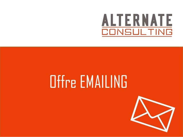 Offre EMAILING