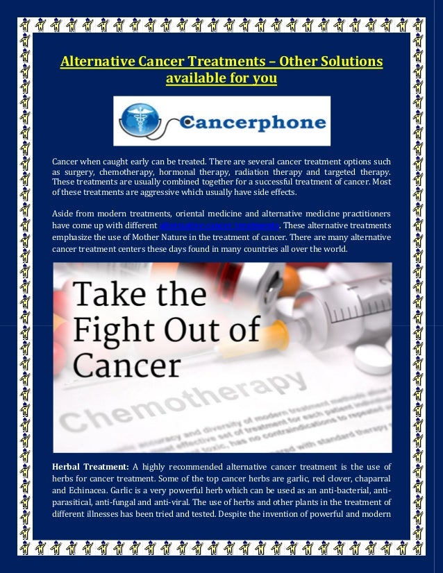 analyis of cancer treatment solutions Cancer can be treated by surgery, chemotherapy, radiation therapy, hormonal  therapy, targeted  ellsa directly measures exosome particles in complex  solutions, and has already been  relapsed serous ovarian cancer: a  preplanned retrospective analysis of outcomes by brca status in a randomised  phase 2 trial.